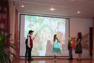 Картинка к материалу ''VIII Ежегодный командный театральный фестиваль на иностранных языках для учащихся 4-8 классов